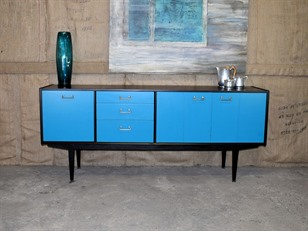 Retro Ebonised Sideboard